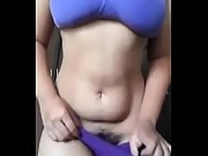 Hot desi chick sleeping pussy exposed