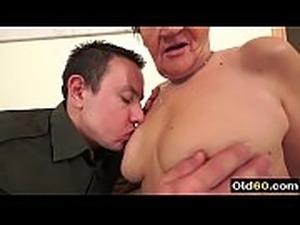Hot grandma sex
