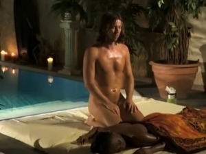Deep Bronze Massage From India That arouse Her Man Deeply