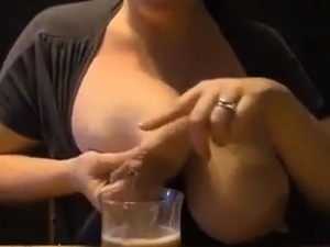 Amateur Huge Engorged Breasts Milking  2