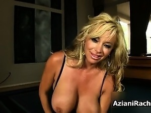 Busty blonde milf goes crazy riding part5