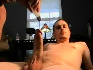 Amateur hunk sucks cock and gets fucked hard anally