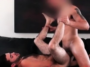 Sexy hunk Josh gets arse hammered after part2