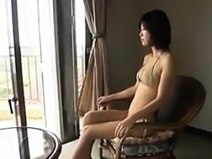 Japanese Beauty Washing Her Body Non-Nude