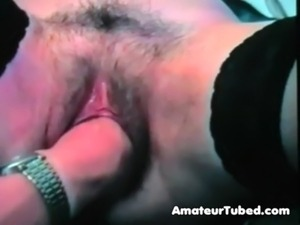 Incredible fisting orgasms for hairy french gf free