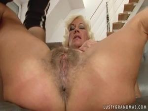 Lusty Granny Anal free