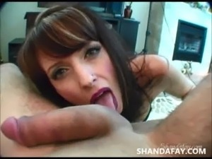 Finger Pegging Blowjob?! ShandaFay! free