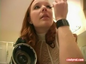 Cindy Red - Red Headed Slut Bare Her Nipples free
