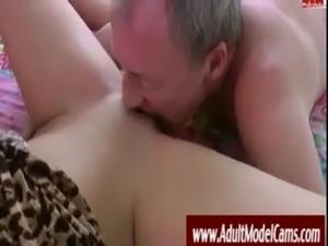 Old Man Fucks Young Hottie - AdultModelCams.com free