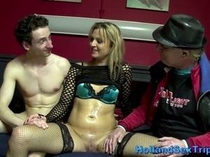 Real dutch hooker gets fucked and cummed on in hi def