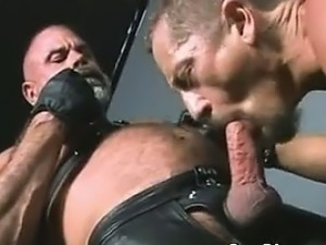 Gay Bikers In Leather