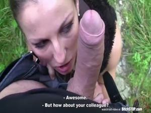 Bitch STOP - Amazing fucking with very horny Czech bitch free