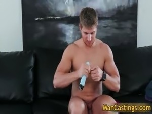 Pretty face gay stud Logan takes rigid part4