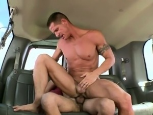 Real baited jock being dong ridden by big hunk