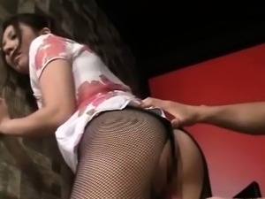Adorable Hot Japanese Babe Fucked