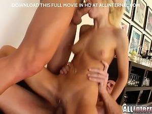 Angelina spreads that ass wide open for you. Her super ellastic asshole opens...