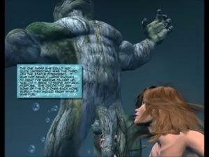 3D Comic: Mermaid free