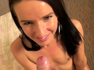 Small Tit Teen Excited About Cock In Her Face
