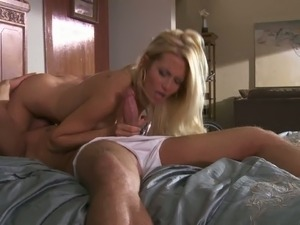 Breathtaking hot stacked blonde Jessica Drake with nice tight ass