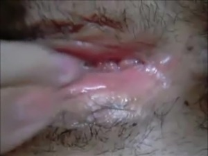 Amateur pussy licking and fingering