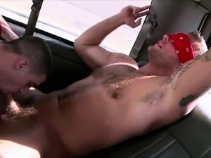 Real straight jock tricked into bj