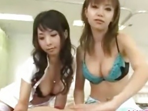 Asian sex threesome