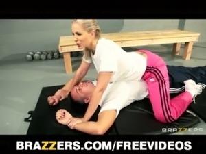 Julia Ann - Dominant blonde trainer free