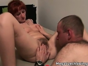 Nasty redhead slut goes crazy part1