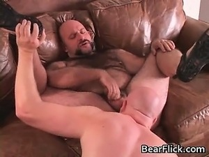 Kinky  big and hair game men sucking part2