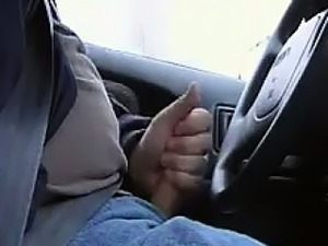 Masturbating In The Car