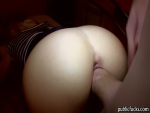 Superb blonde european babe gets paid to suck and fuck free