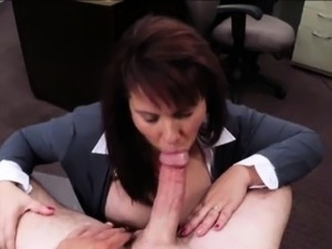 Massive boobs Milf sells her husbands ols coins for bail
