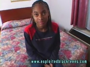 Ebony Black Teen - Angie Lita free