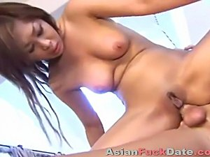 slim Asian wife gets fucked anal