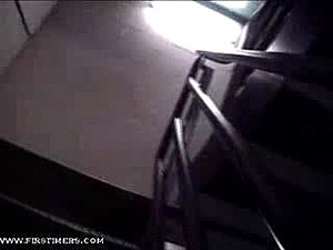 Hot secretary sucks a cock in a parking and the action continues in the bedroom