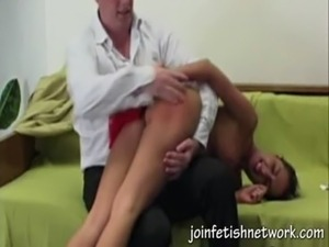 red ass after otk spanking free