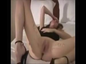 Amateur - Hot Wife BBC Bareback Creampie Gangbang