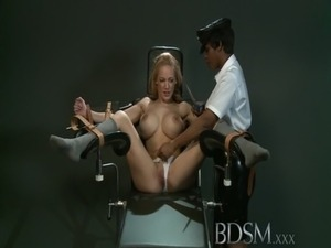 BDSM XXX Slave girl with massive breasts gets it hard with orgasm free