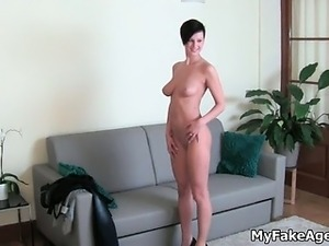 gorgeous Czech shows amazing tits part4