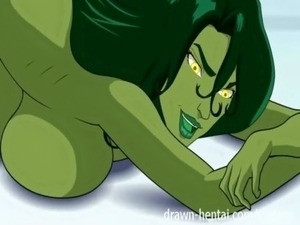 Fantastic Four Hentai - She-Hulk casting free