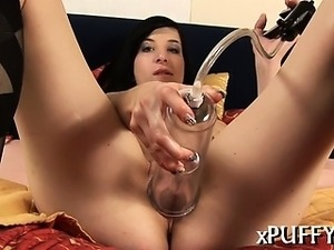 Juicy and sexy pussy fingering
