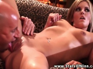 MacKenzee Pierce pussy licked before getting fucked from behind
