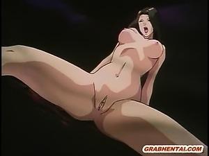 Japanese hentai girls groupfucking by tentacles
