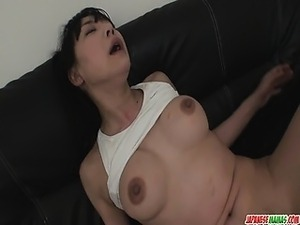 Pussy Vibrations Finishes Miho Wakabayashis Workout