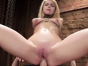 Young pornstar sex at work