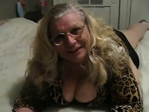 Big Mature Woman Wearing Black Panties