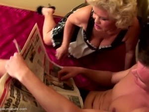 Dirty old grannies fucked and creampied