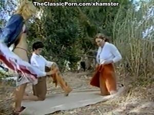 Ron Jeremy, Nina Hartley, Lili Marlene in vintage porn clip