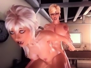 Hard Lesson - Incredible 3D anime xxx collection