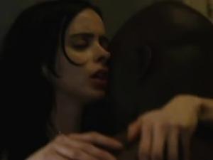 Krysten Ritter sexy in Jessica Jones